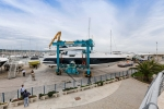 Azimut 80 - pictures of the launch