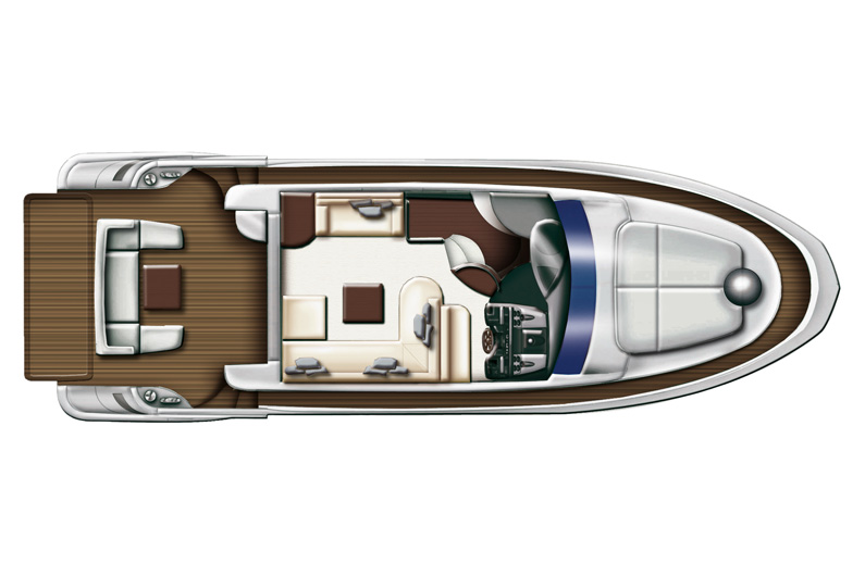 Azimut 43S - Lowerdeck. My Azimut. Access the Azimut Yachts premium area to