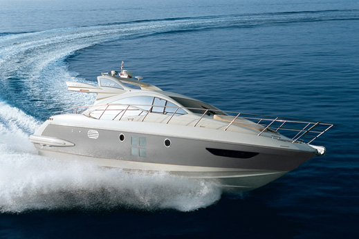Azimut 43S. This yacht offers an amazing sensation of speed.