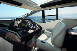 Azimut 55S - Wheelhouse