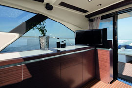 Azimut 55S - Galley Closed Version