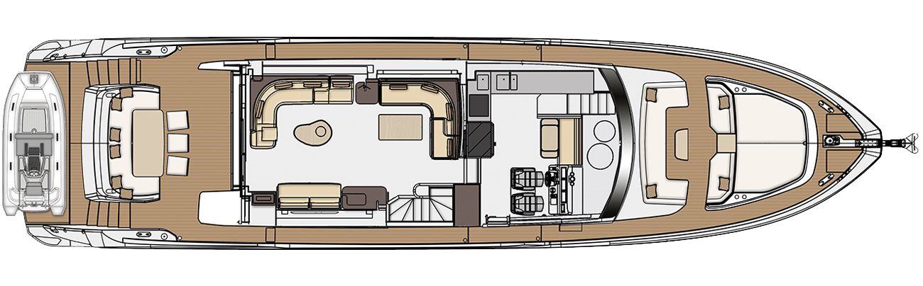 Main deck - lounge version