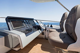 Azimut 80 - External Wheelhouse