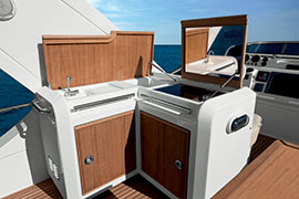 Azimut 60 - Wet Bar