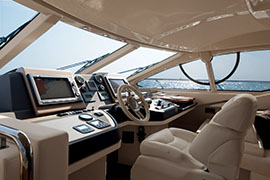 Azimut 60 - Internal Helmstation