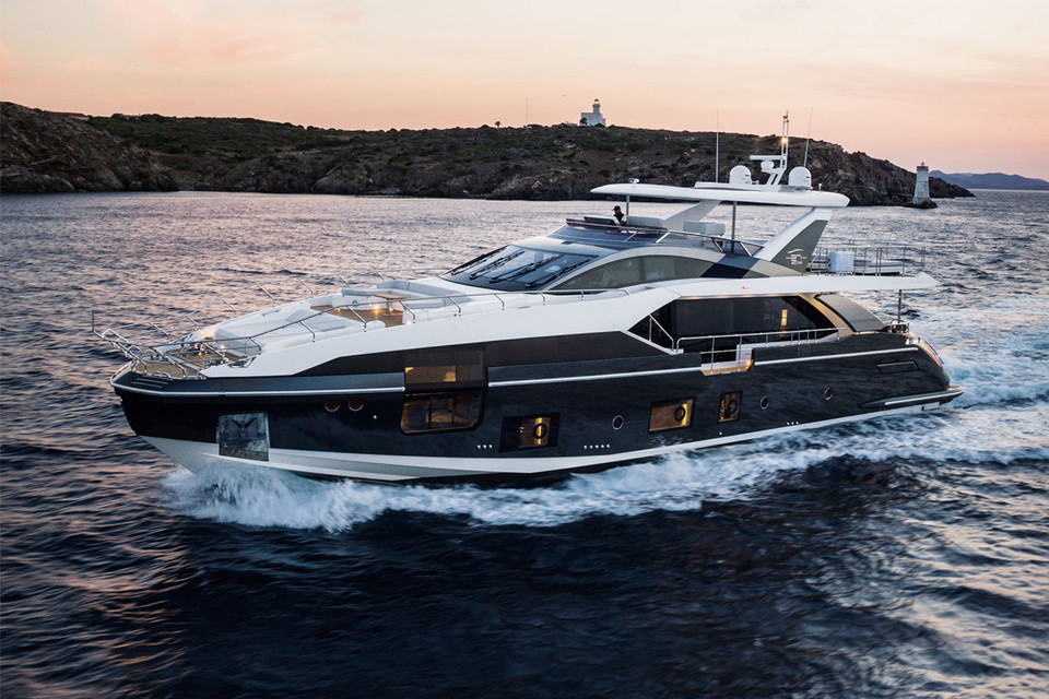 An all new 27 metre megayacht is born