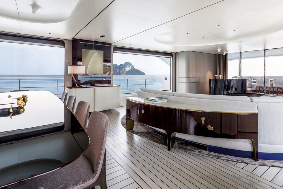 On the podium at the World Superyacht Award 2018